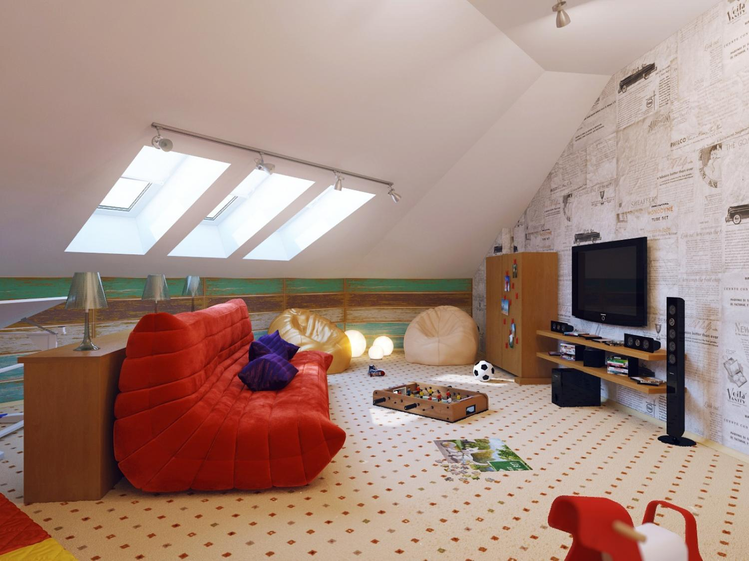 Attic Space Ideas 16 Small Attic Room Design Ideas Houz Buzz