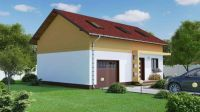 Small Houses With Built-In Garage - Houz Buzz