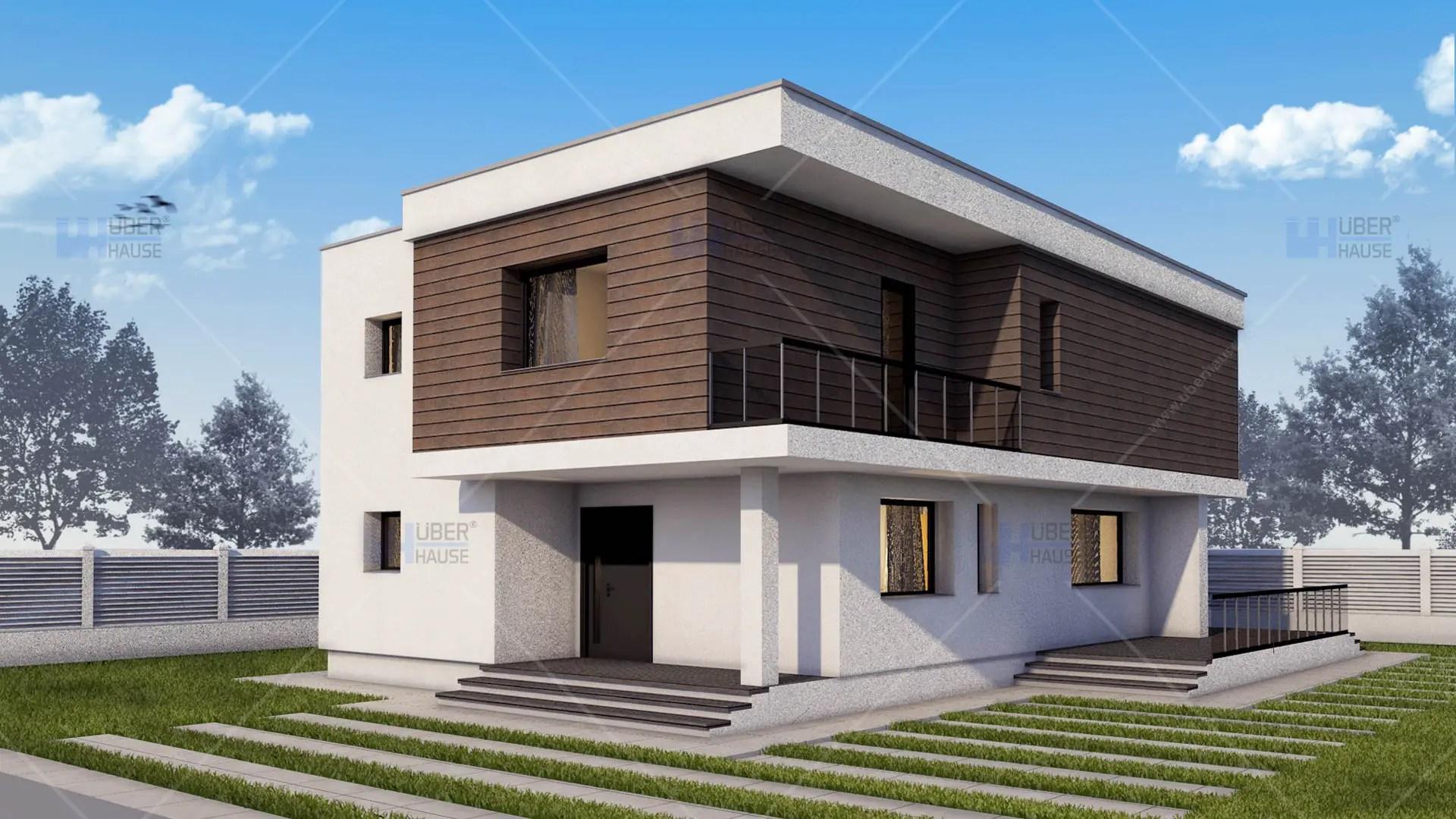 Case Moderne Ad Un Piano : Case moderne modele fatade de case moderne cum profile decorative
