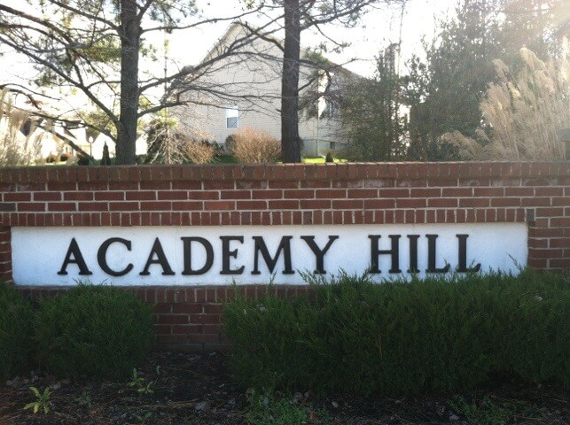 Academy Hill Newark Delaware