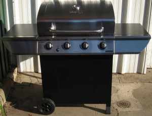 A shot of our new barbecue!