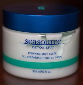 A picture of Arbonne's Seasource Detox Spa Renewing Body Gelée