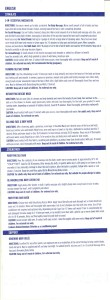 An overview of the product details for the Arbonne seasource Detox Spa line