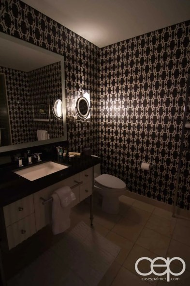 The Cosmopolitan Wraparound Terrace Suite — Powder Room —