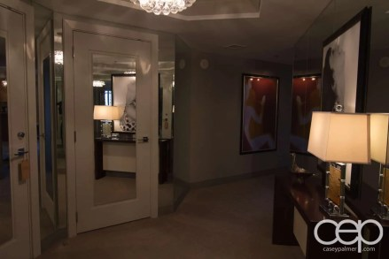 The Cosmopolitan Wraparound Terrace Suite — Entryway —