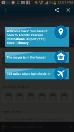 BiSC and Las Vegas 2013 — Foursquare — Return to Toronto