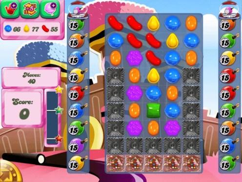 The Candy Crush Saga — Level 391
