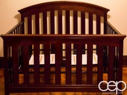 The DoomzToo Birth Story — The Nursery — The Crib — The Frame