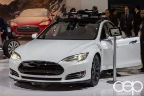 #FordNAIAS 2014 — Day 2 — Cobo Hall — North American International Auto Show — Tesla — Tesla Model S