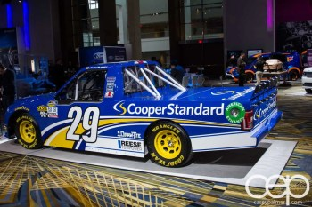 #FordNAIAS 2014 — Day 2 — Cobo Hall — Behind the Blue Oval — New NASCAR Ford F-150