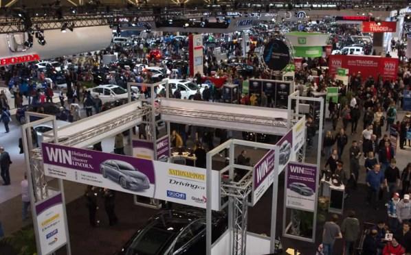 Canadian International Auto Show 2014 — Metro Toronto Convention Centre — North Building — Crowd Shot