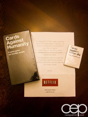 #100HappyDays — Day 31 —  House of Cards Against Humanity