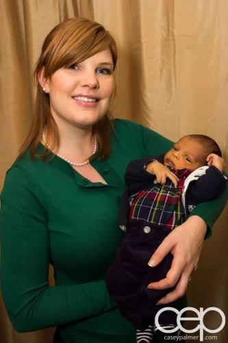 Sarah and the Palmer Kid, circa December 2013