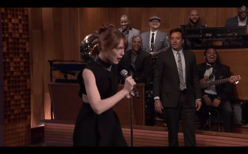 The Tonight Show with Jimmy Fallon — Special Guest Emma Stone — Lip Sync Battle — Entering Luda's Verse