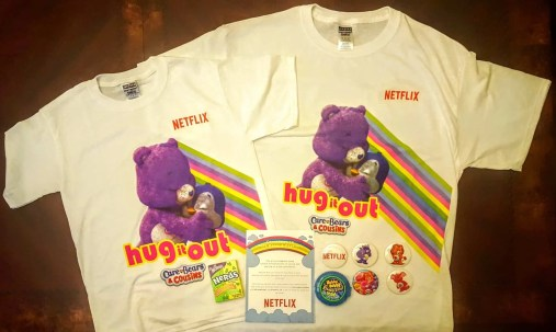 The Week That Was... November 15th - 21st, 2015 — Netflix Care Bears and Cousins — The Care Bears and Cousins Swag Package