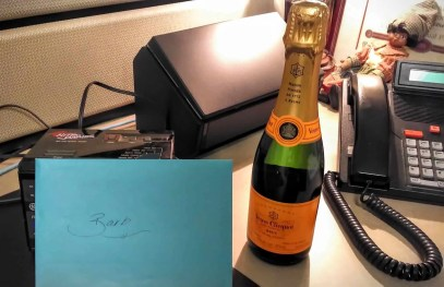 The Week That Was... October 25th - 31st, 2015 — Some Veuve Cliquot to Thank Barb for the Baby Shower