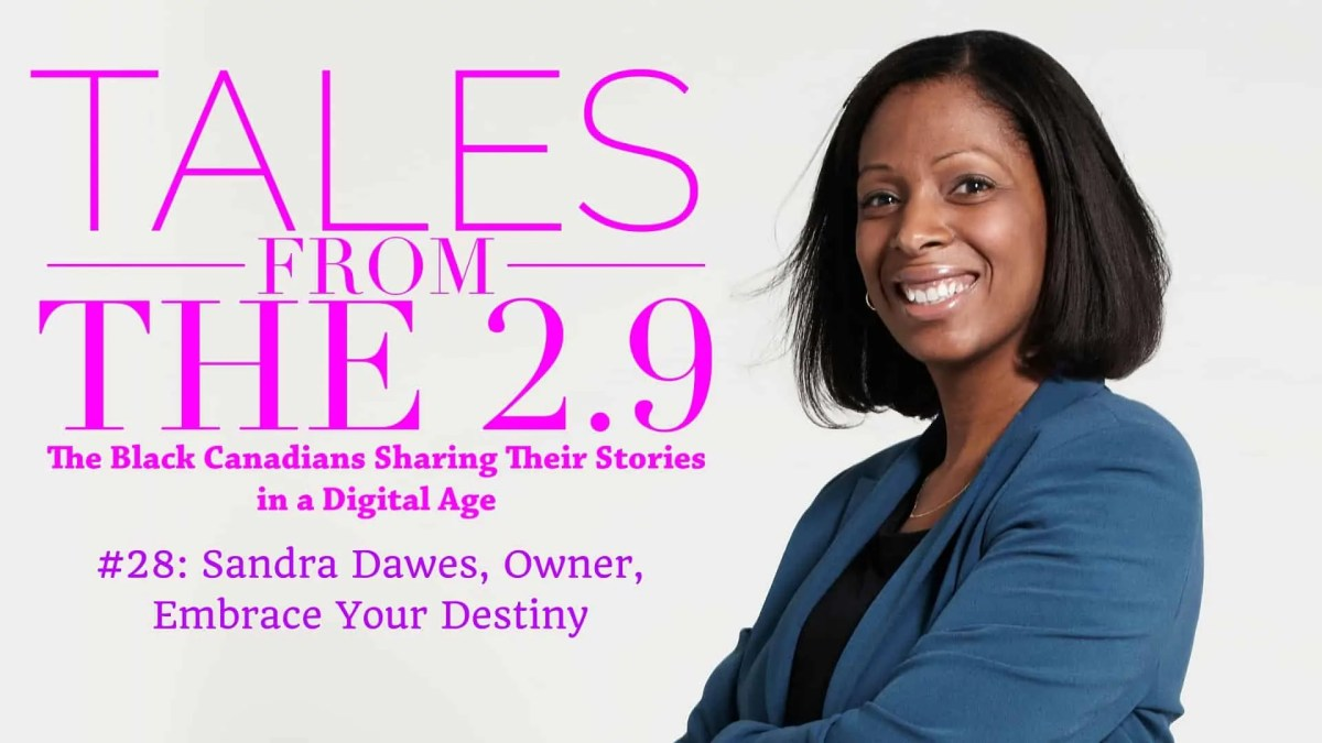 Tales from the 2.9 — Sandra Dawes (Featured Image)