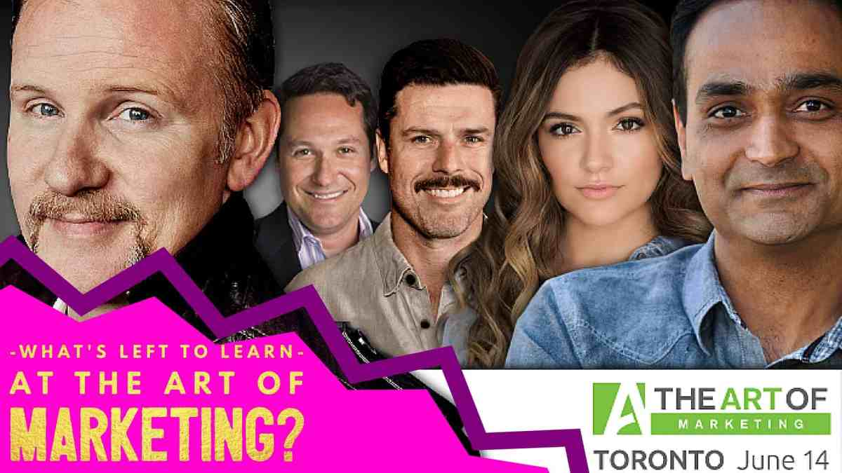 The Art of Marketing Toronto 2016 — What's Left to Learn at The Art of Marketing?