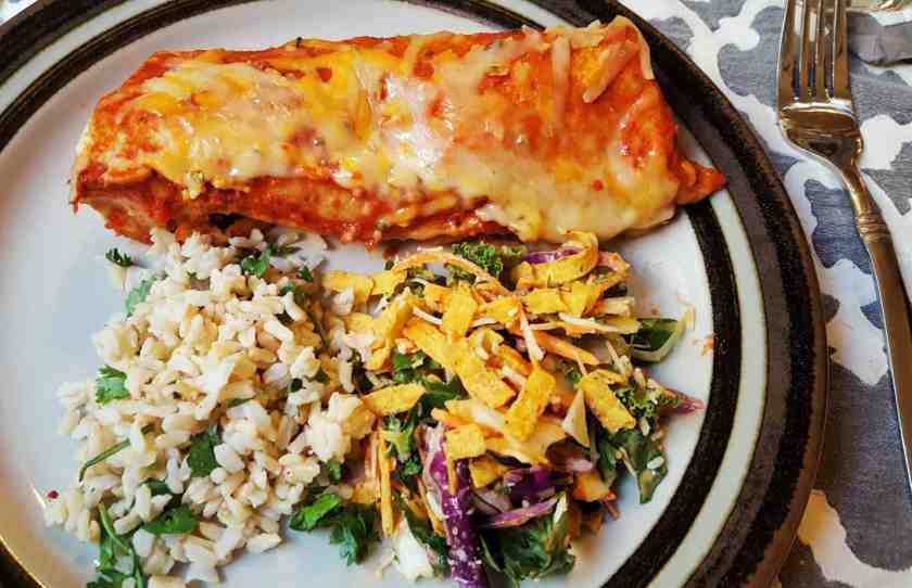 Let's Taco 'Bout It, Chapter One — Solving Dinnertime Dilemmas with Old El Paso! — Skinny Chicken Enchiladas — Finished Product