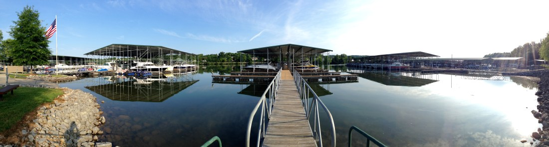 Concord Marina in Knoxville, Tennessee