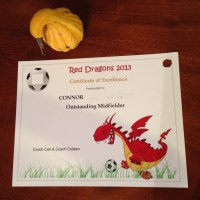 How To Make Soccer Certificates - Shrinky Dink Style