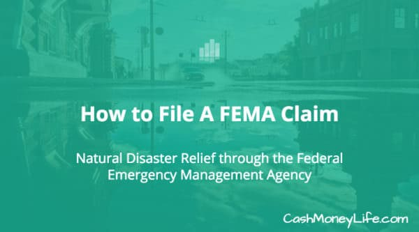 How to File A FEMA Claim - Natural Disaster Assistance - fema application form