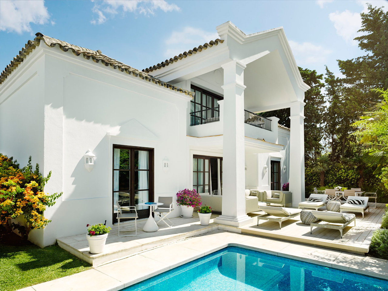 Three Bedrooms Villa Marbella Club Spain Casol Villas
