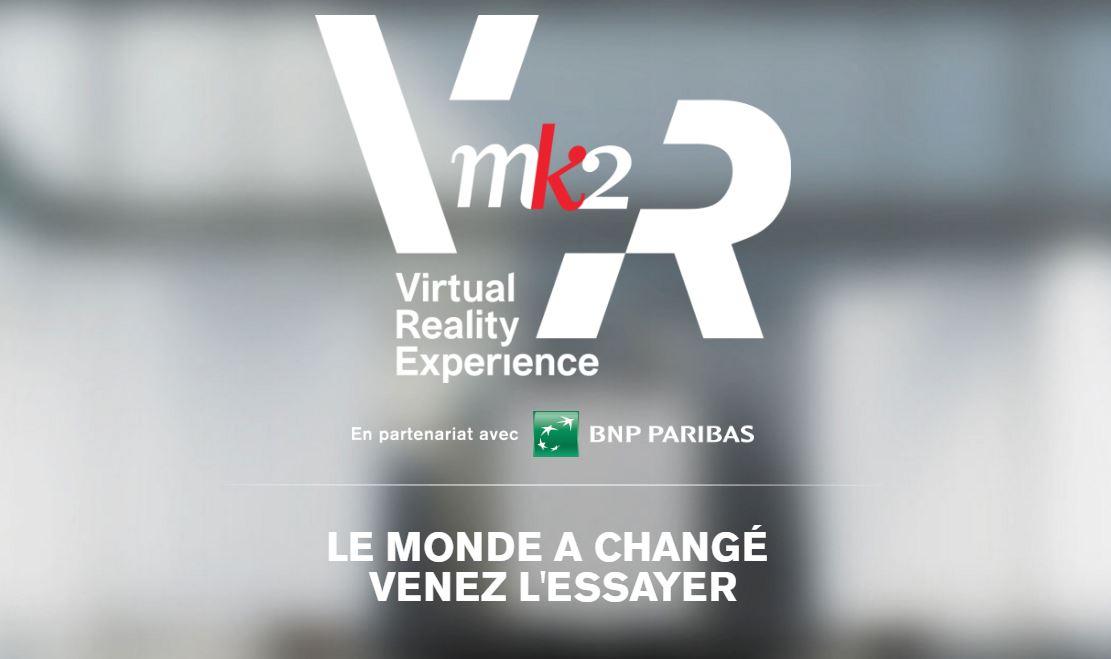 MK2 mise sur la réalité virtuelle