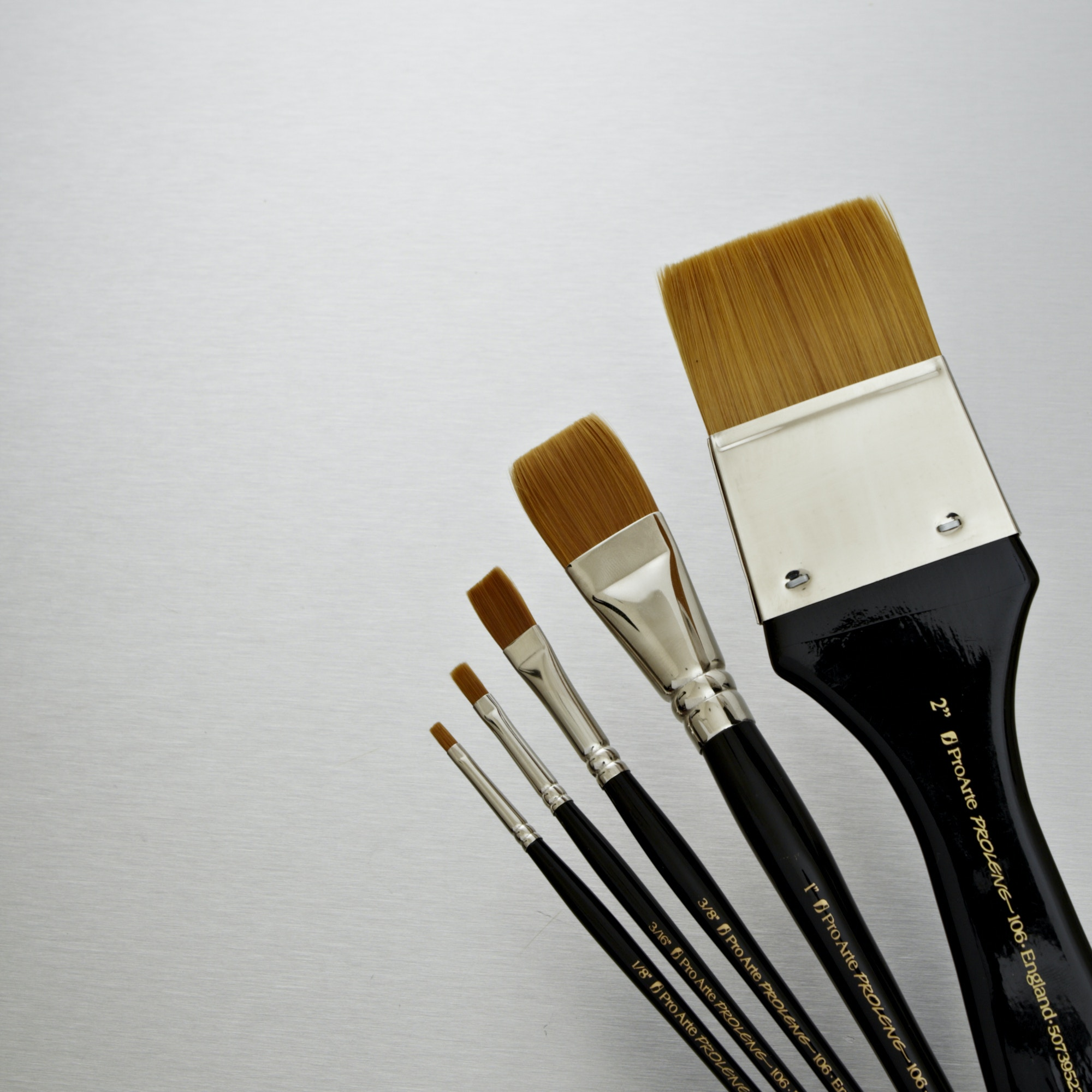 Arte Online Pro Arte Prolene Synthetic One Stroke Brush Series 106