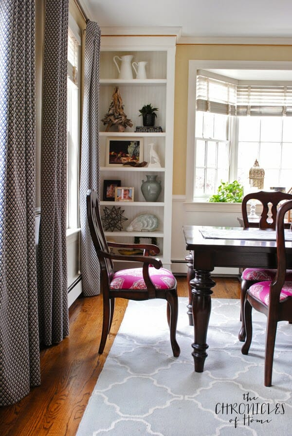 Contemporary Traditional Dining Room Makeover2