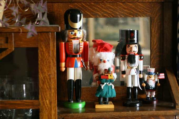nutcrackers on display