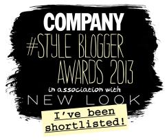 nominated company style blogger awards 2013