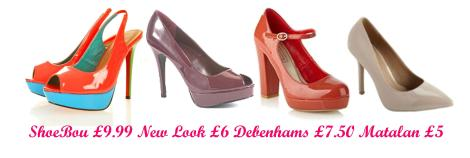 tuesday shoesday patent leather shoes in january 2013 sales new look shoebou debenhams matalan