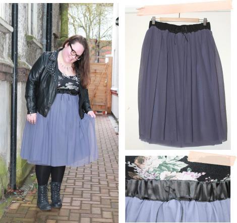 the wardrobe challenge hanna photo of tulle skirt for punky princess fashion look cassiefairy tutu