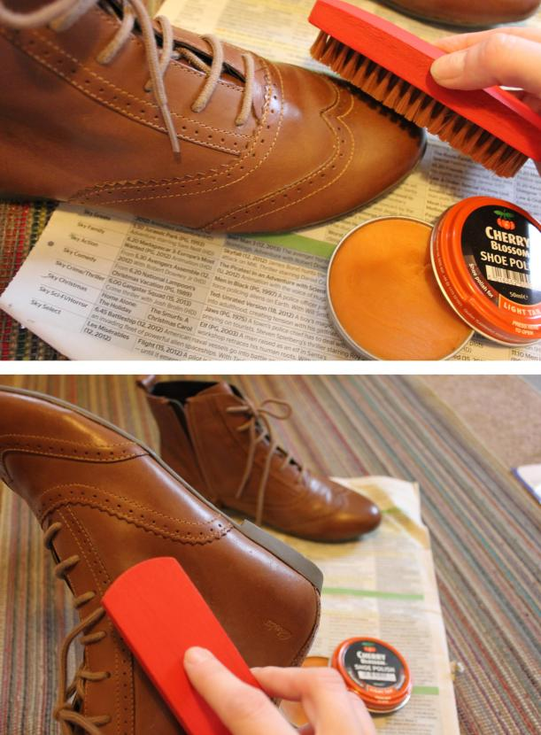 How to polish your new leather shoes to keep them protected