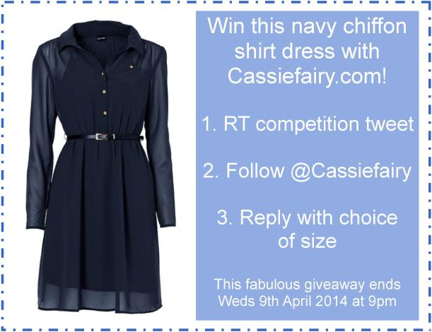 frebie friday navy dress giveaay pic