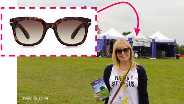 sunglass junkie VIP specs at blogstock