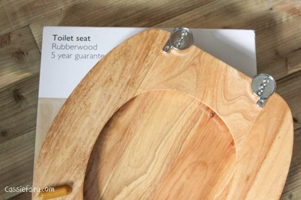 eco friendly rubberwood toilet seat-2