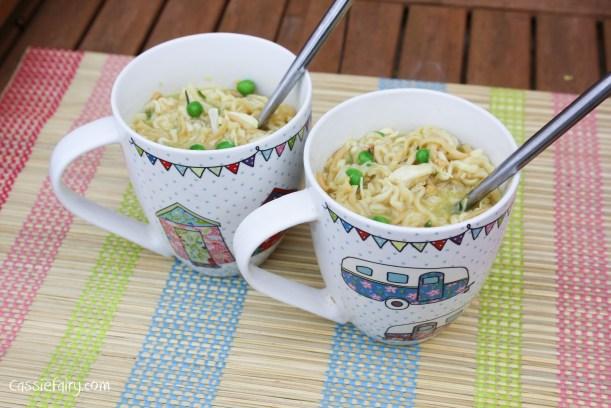 quick and easy posh chicken pot noodle recipe_