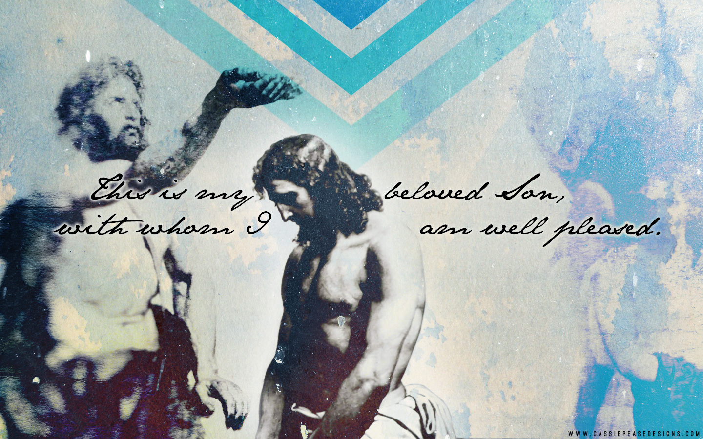 Wallpapers Of Christian Quotes Baptism Of The Lord Desktop Wallpaper Cassie Pease Designs