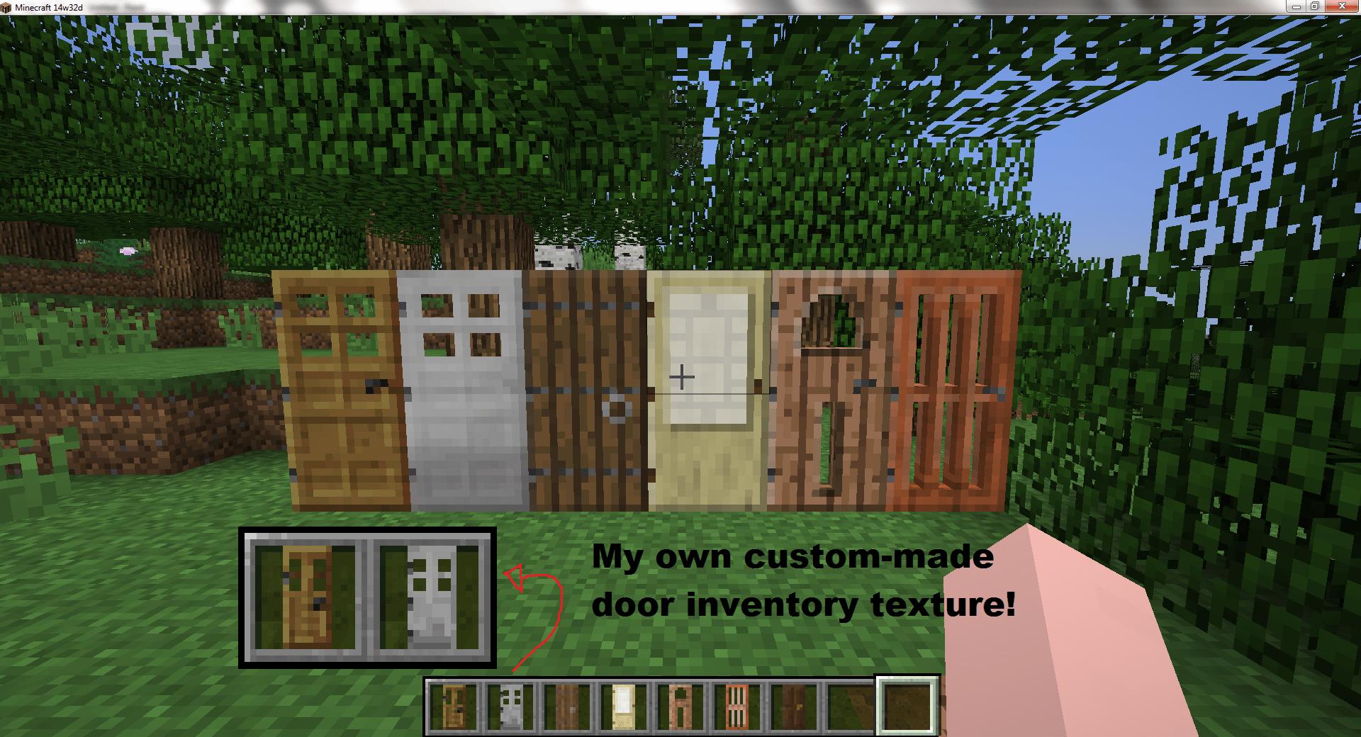 Minecraft Doors & Extra