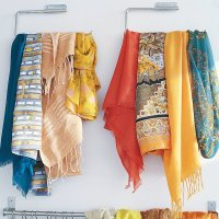 How do you organize your scarves, how to organize your ...