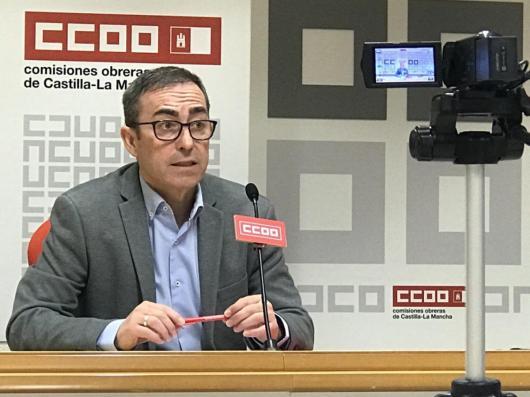Paco de la Rosa, rueda de prensa en enero de 2021