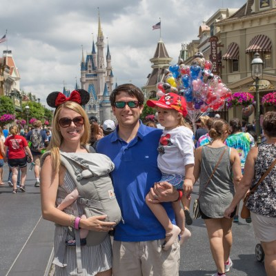 Disney World with a Toddler and a Baby