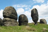 The Bridestones - Todmorden
