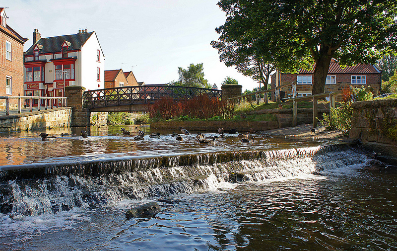River Leven at Stokesley by Gordon_Simpson - Walks in Hambleton