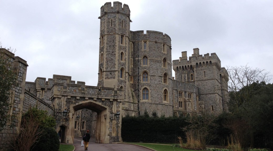 entrance to Windsor Castle grounds