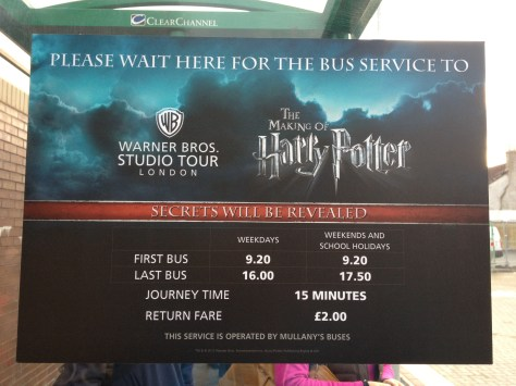 thanks to TripAdvisor, we were able to figure out how to visit the Warner Bros. Harry Potter Studios near London using public transportation, saving quite a bit of money