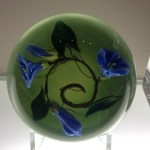 glass paperweight, Paul Stankard