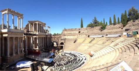 Teatro Romano in Mérida, Spain
